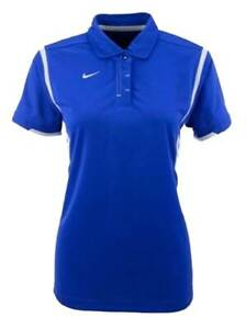 Nike Women's Team Gameday Polo Shirt Short Sleeve Golf  Shirt Top Color Choice