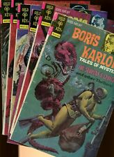Gold Key Classic Comics Mega Lot! *6 Books* Original! Mystery! Karloff! Rare!