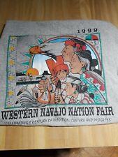1999 Western Navajo Nation Fair T-Shirt Gray Short Sleeve Adult XL