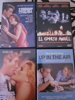 Lote 4 DVD - UP IN THE AIR - ANALISIS FINAL - EL CUARTO ANGEL - ESPLENDOR HIERBA