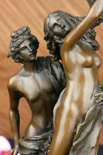 "APOLLO AND DAPHNE"" Signed Bernini Roman Greek Mythology Bronze Statue Decorative"
