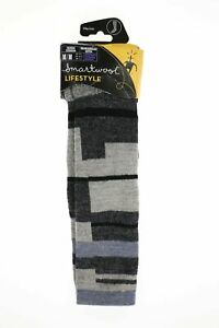 Smartwool 265278 Womens Techno Tango Knee High Socks Charcoal Size Medium
