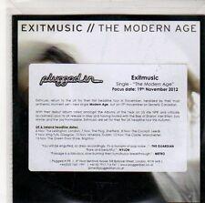 (ED647) Exitmusic, The Modern Age - 2012 DJ CD
