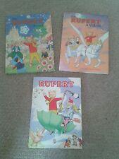 Books - Rupert Bear Annuals - 75th Anniversary Edition (Bundle/Lot)