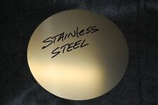 "Stainless Steel Disc 5""  Diameter .080"" Thick FREE SHIPPING"