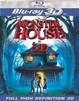 Monster House BLU RAY 3D/ BLU RAY VERSION NEW! STEVEN SPIELBERG HALLOWEEN FUN!