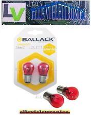 N023/1 BALLACK Coppia Lampade PR 21/5W 12V Attacco BAW15D Doppio Filamento Stop
