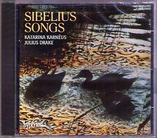Katarina KARNEUS: SIBELIUS 25 Songs Op.36 37 50 CD Julius DRAKE Karnéus HYPERION