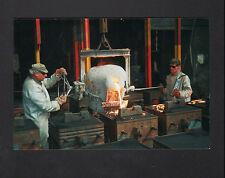 FRETEVAL 41 : FONDERIE / Coulée , OUVRIER au travail en 1995