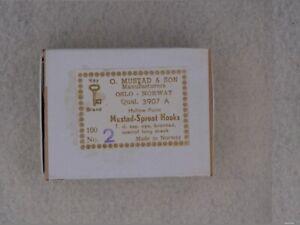 Mustad 3907 A 8XL Carrie Stevens Long Shank Fly Tying Hooks Size #2 100 pack