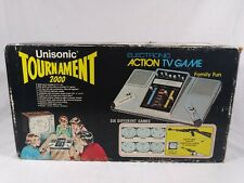 Vintage UNISONIC TOURNAMENT 2000 Electronic Arcade TV Console Game System