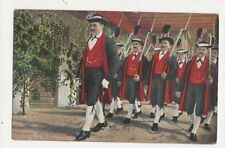 Peterstaler Miliz Schwarzwald 1911 Postcard Germany 395a