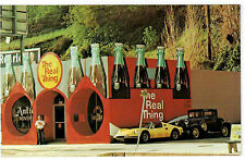 The Real Thing Coca Cola Coke Collectibles Shop Postcard Studio City California