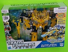 Transformers Prime BUMBLEBEE BATTLE SUIT Legion Class Cyberverse Series 2 #003