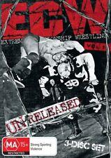 WWE -  ECW - Unreleased : Vol 1 (DVD, 2012, 3-Disc Set)