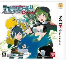 Used Nintendo DS Digimon World Re: Digitize Decode Japan Import (Free Shipping)