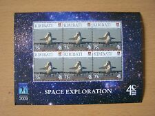 KIRIBATI 2009 SPACE EXPLORATION 75C SHEETLET,CAT £9.00,U/M,EXCELLENT