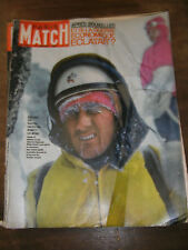 Paris Match N° 722 9 février 1963 Walter Bonatti Alpinisme Norseman Paul Garon