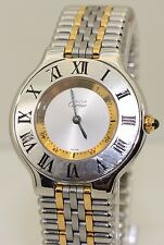 Ladies Stainless Steel & 18K Gold Must de Cartier 21 1330 30mm Quartz Mid Size