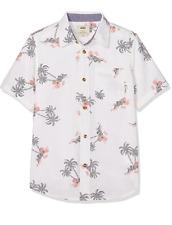 Vans Garçon'S Salado Palm S/S Shirt-M