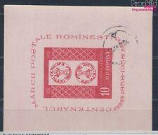 Roumanie Bloc 41 oblitéré 1958 100 Années roumain Timbres (8688210