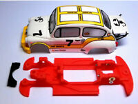 Chassis 600 Abarth 1000 TC Block Lineal SCX Scalextric ES Mustang Slot Design