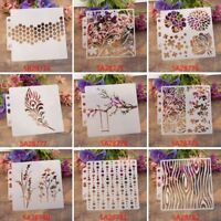 DIY Craft Layering Stencils For Painting Scrapbooking Template Stamp Album Decor