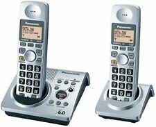 Phone Cordless Panasonic DECT 6.0-Series Dual-Handset  w/ Answering System