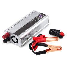 1500W Watt Car DC 12V to AC 220V Power Inverter Charger Converter For Electronic