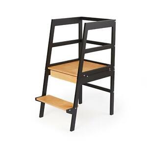 Montessori 2 in 1 Learning Tower - Kitchen Helper - Step Stool - Creativity Desk
