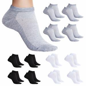 Stock 12 paia calzini alla caviglia fantasmini uomo donna cotone TOOCOOL ZA-115