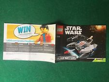 (Q23) LEGO STAR WARS 75073 CATALOGO MONTAGGIO VULTURE DROID Brochure KATALOG