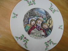 "Royal Doulton ""Christmas 1981"" Commemorative Plate"