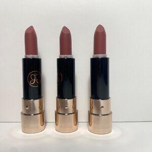 Anastasia Beverly Hills Mini Matte Lipstick - Dead Roses - .045 oz - New x3