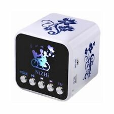 NiZhi TT-032B Mini FM radio USB disk TF Card MP3 Player Digital Speaker for PC