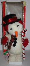 """Telco Animated Snowman Motion-ettes of Christmas 24"""" 1995 Tested Working Box"""