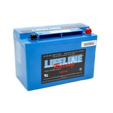 LIFELINE RACING BATTERY 12-VOLT 2-POST 12V 850 CCA LIGHTWEIGHT SEALED TOP POST