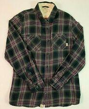 Vans Mens Shirt Flannel M Medium Long Sleeve Button Front Plaid LS Skateboard