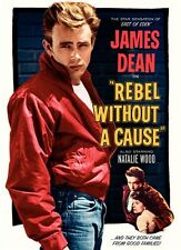 Rebel without a cause James Dean cult movie poster print 45