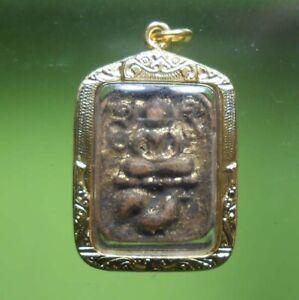 REAL RARE OLD BUDDHA AMULET THAI LP PARN HOT PENDANT VERY NICE