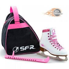 SFR Girls Junior Figure Ice Skate Pack - White