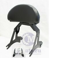 Detachable Black Aftermarket Backrest Sissy Bar For Victory Cross Country Road 1
