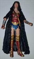 "Dc Comics Multiverse Wonder Woman With Coat Loose 6"" Action Figure Mattel 2017"