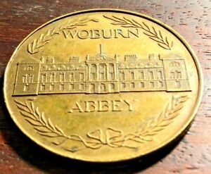 Old Vintage WOBURN ABBEY Coin / Token / Medal