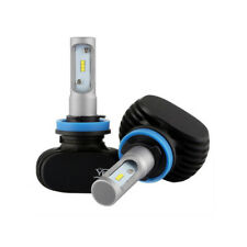 Nighteye 8000LM  Car LED Headlight Kit H11 H8 H9 6500K Bulbs Lamps Low Beam Pair