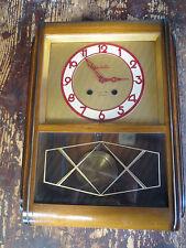 Ancienne horloge carillon pendule 3 marteaux VEDETTE vintage 20ème old clock