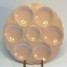 """Art Deco French Faience Oyster Plate """"Digoin""""& Sarreguemines Very Deco"""