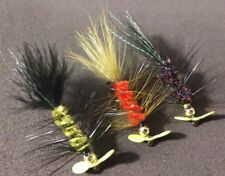 Freshwater/Trout, Multi Selection Spinner Flies, Sold Per 6, Size 6, Hot Buy!*