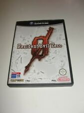 Resident Evil ZERO Game Cube PAL ESPAÑA