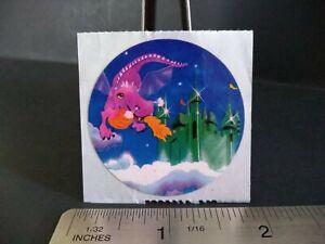 Vintage Stickers LISA FRANK Dragon Castle Sticker VTG 1982